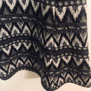 3/4 sleeves dress dark blue